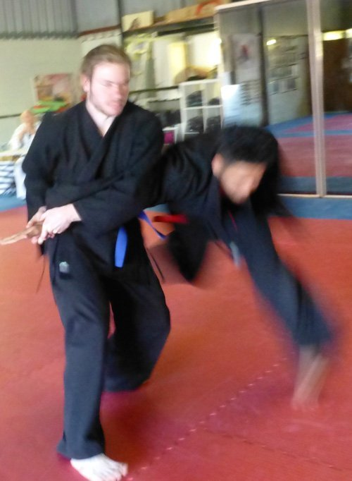 wyong hapkido judo training