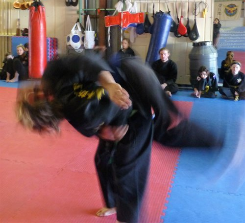 wyong hapkido training at progress