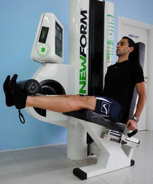 Esercizio muscoli gambe