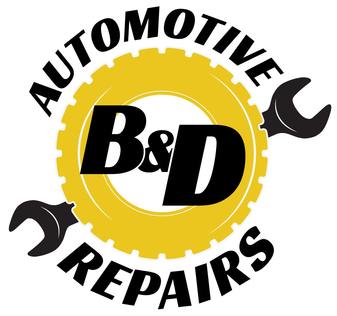 B & D Automotive Repairs Logo