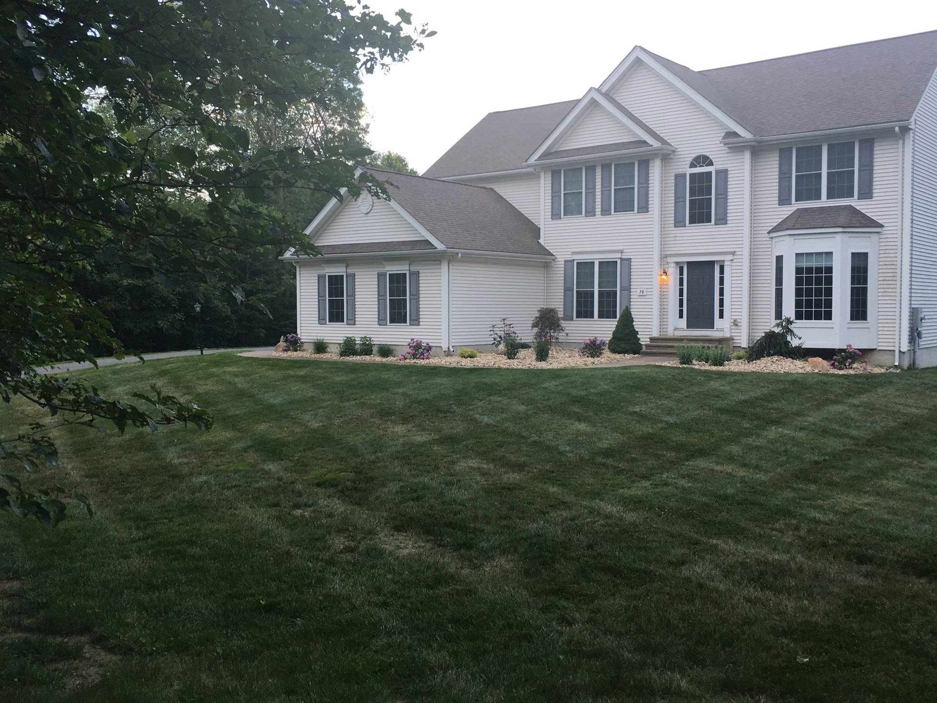 Front Lawn of House