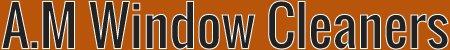 A.M Window Cleaners logo