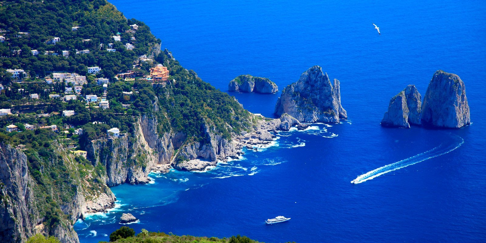 Estasiati dalle bellezze di Napoli e del Sud Italia