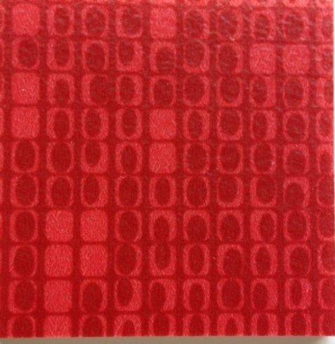 pavimento PVC color rosso