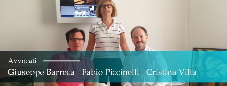 Avvocati Barreca Piccinelli Villa