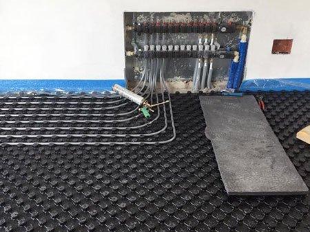 un impianto termo idraulico