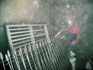 Shot blasting - Mitcham, Surrey - Jura-Spray Ltd - Shot blasting