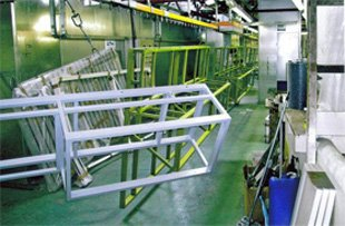 Industrial painting services - Mitcham, Surrey - Jura-Spray Ltd - Metal