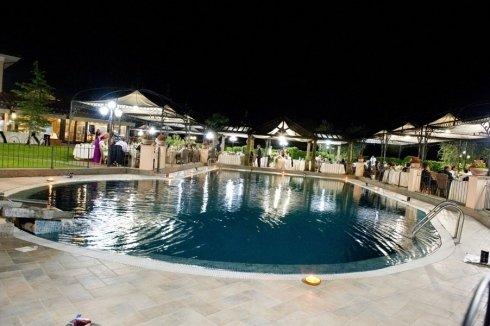 ristorante cene bordo piscina
