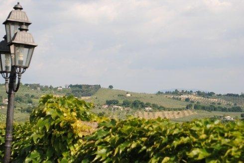 ristorante vista colline