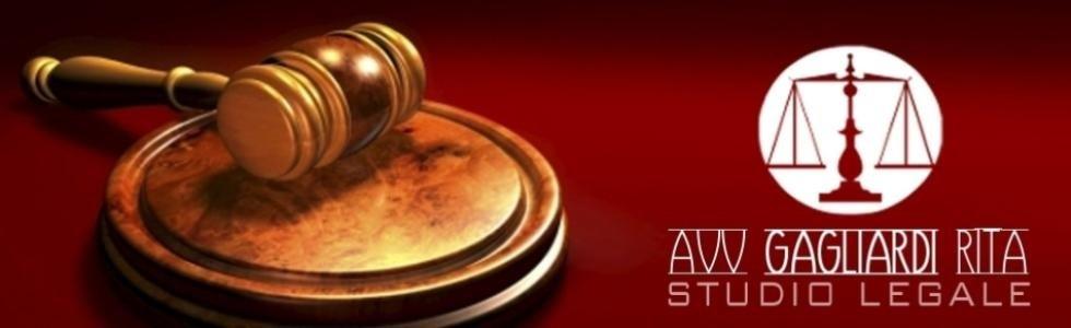 STUDIO LEGALE GAGLIARDI AVV. RITA - logo