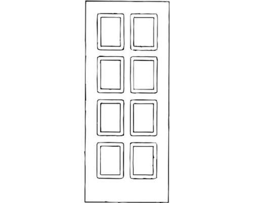 Schema portoncino di ingresso a quadri