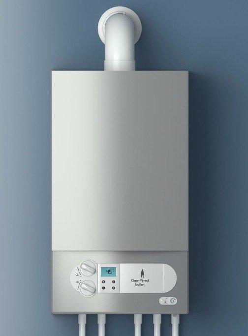 Silver condensing boiler