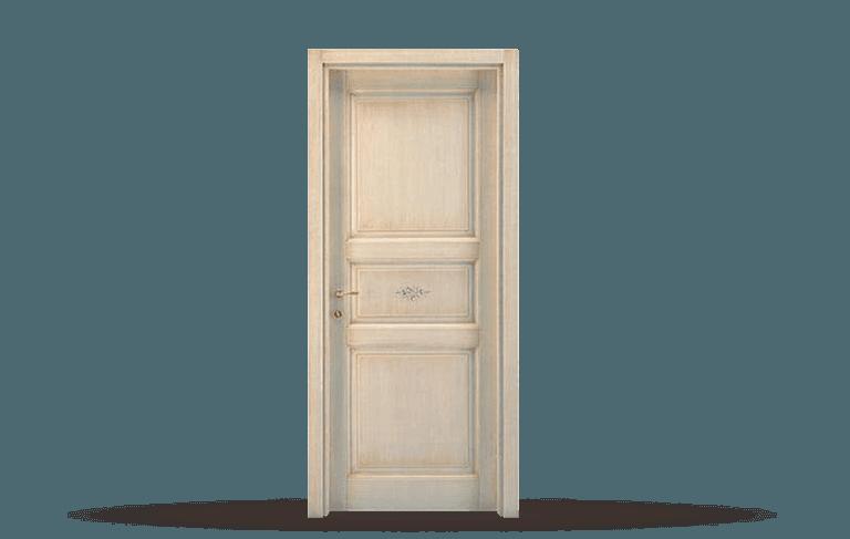 Porta interna in legno  massello Modello Mantova A