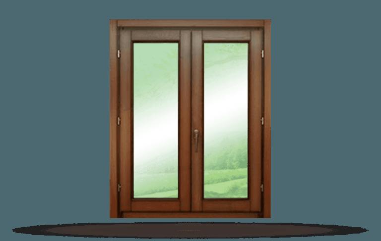 Finestra in legno modello Classic