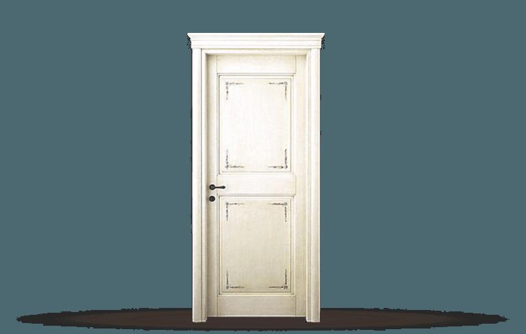 Porta interna in legno  massello Modello Pienza A
