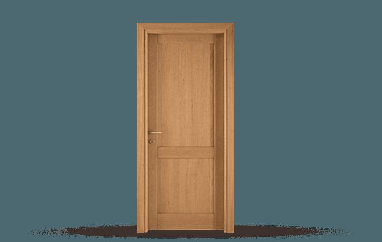 Porta interna in legno massello  Modello Siena A