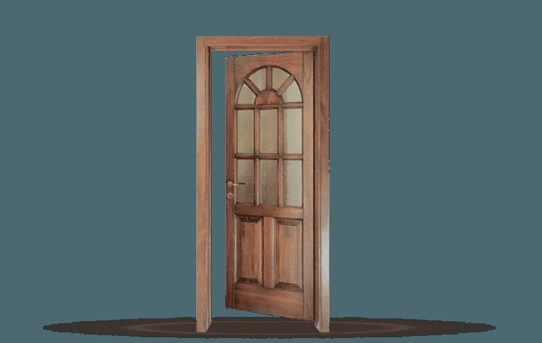 Porta interna in legno  massello Modello Old City