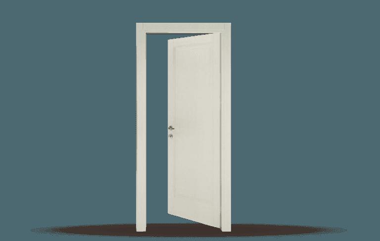 Porta interna  in legno massello Modello Toscana