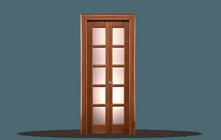 Porta  interna in legno massello Modello Taormina