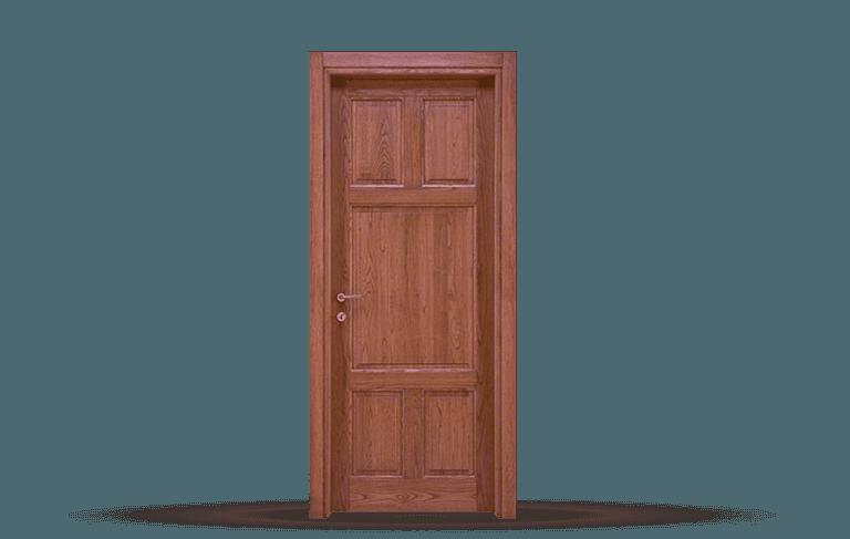 Porta interna in legno  massello Modello Ragusa