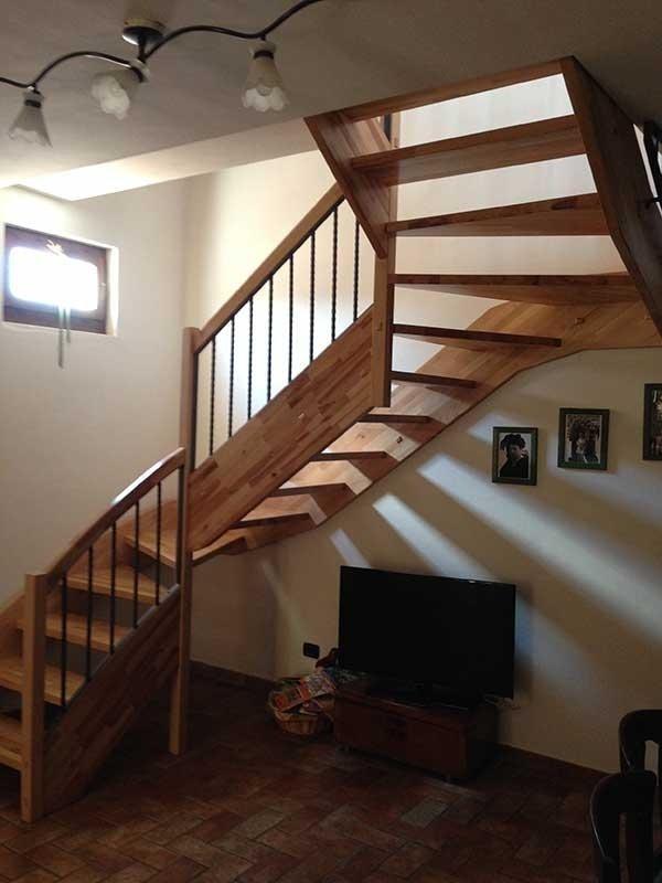 realizzaizone  scale in legno perugia