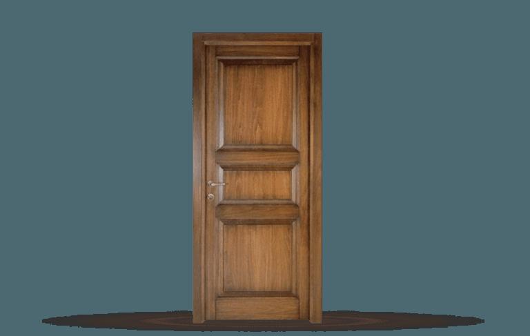 Porta interna in legno  massello Modello Mantova B