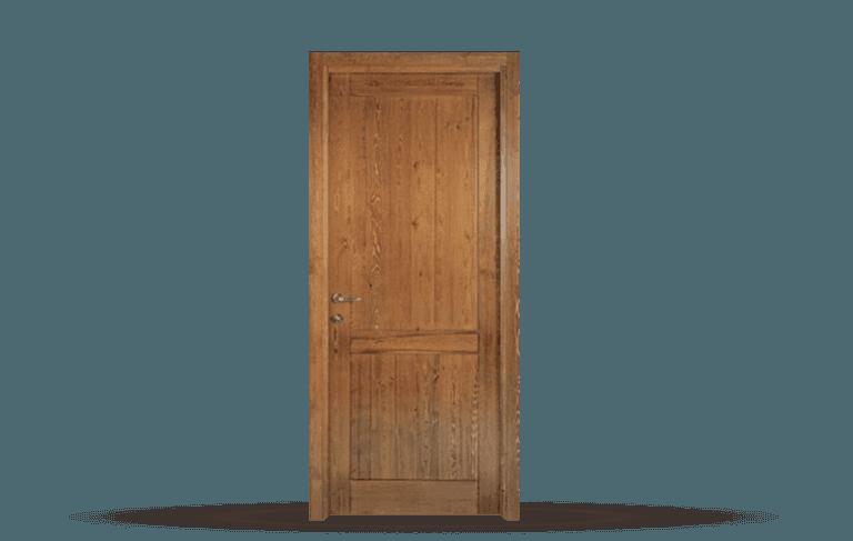 Porta interna in legno massello  Modello Siena B