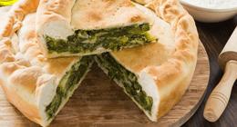 torta verde Trattoria Rosin Genova