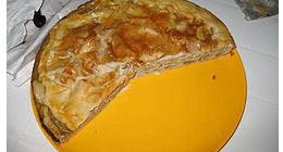 Torta pasqualina Antica Trattoria da Rosin Montoggio Genova