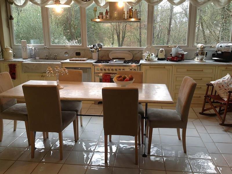 cucina marmo carrara