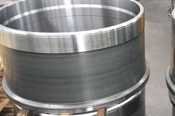 un barile in metallo