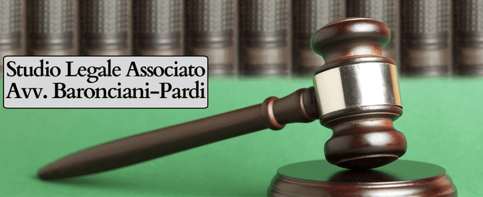 Avv. Baronciani - Pardi