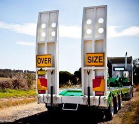 hogans heavy haulage pty ltd over size haulage