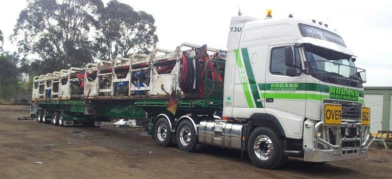 hogans heavy haulage pty ltd heavy transport
