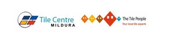 Tile centre mildura banner logo