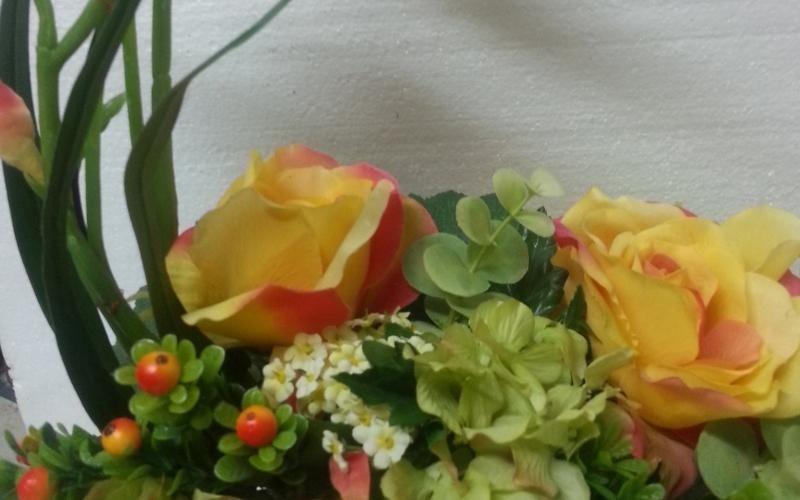 decorazione floreale scorrano