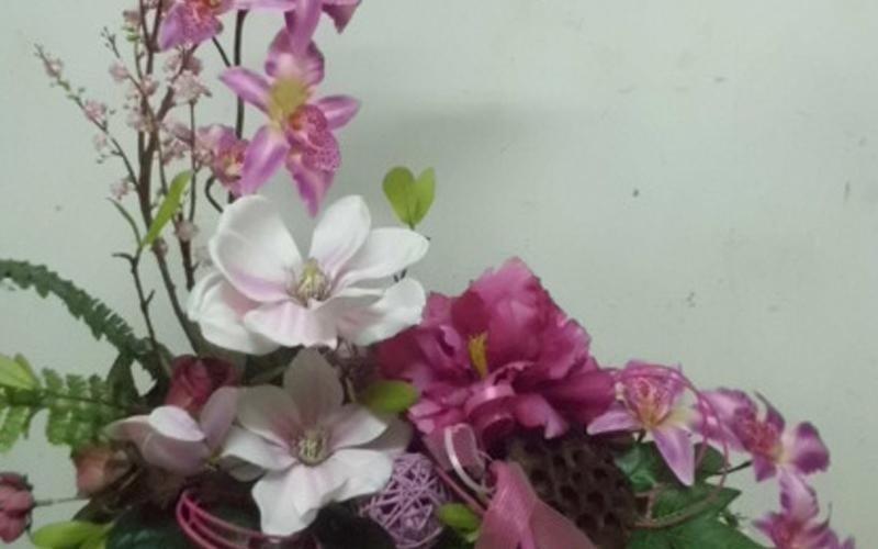fiori in vaso scorrano