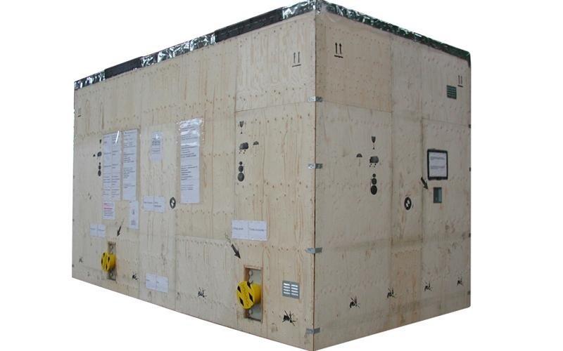 cassa imballaggio industriale in legno