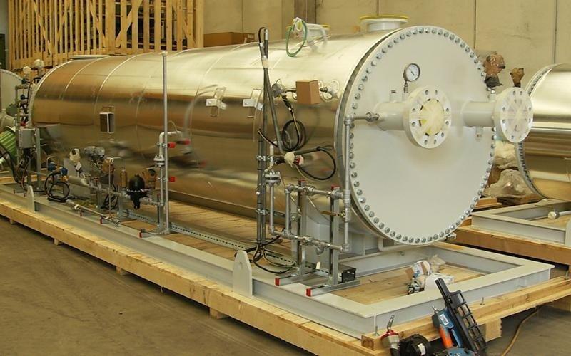 imballaggio industriale forni trattamento gas