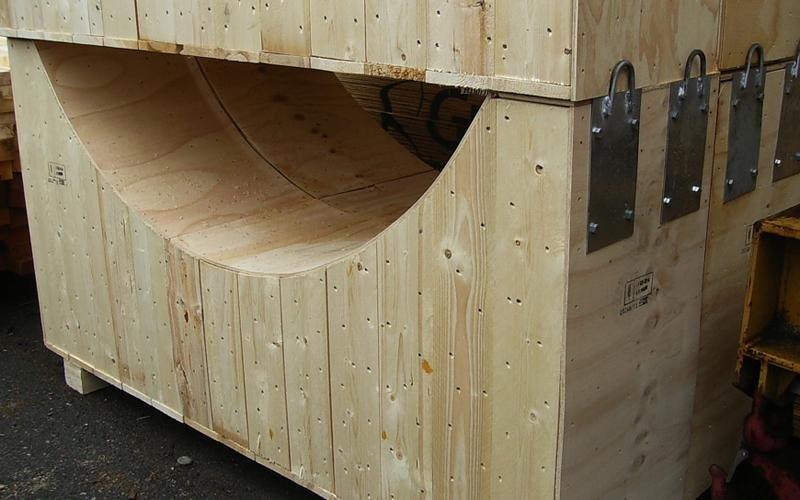 selle legno imballaggio industriale
