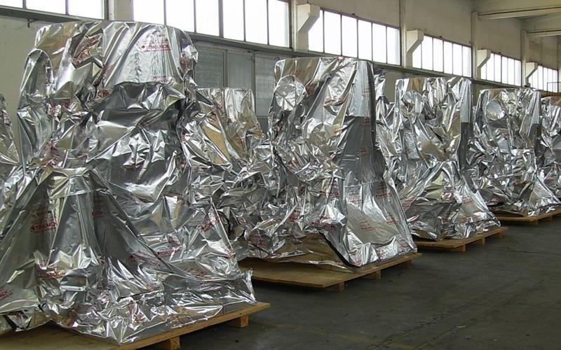 protezione sacchi barriera