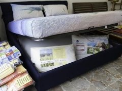 letto con contenitore