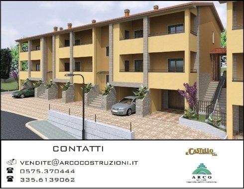 appartamenti a Bibbiena