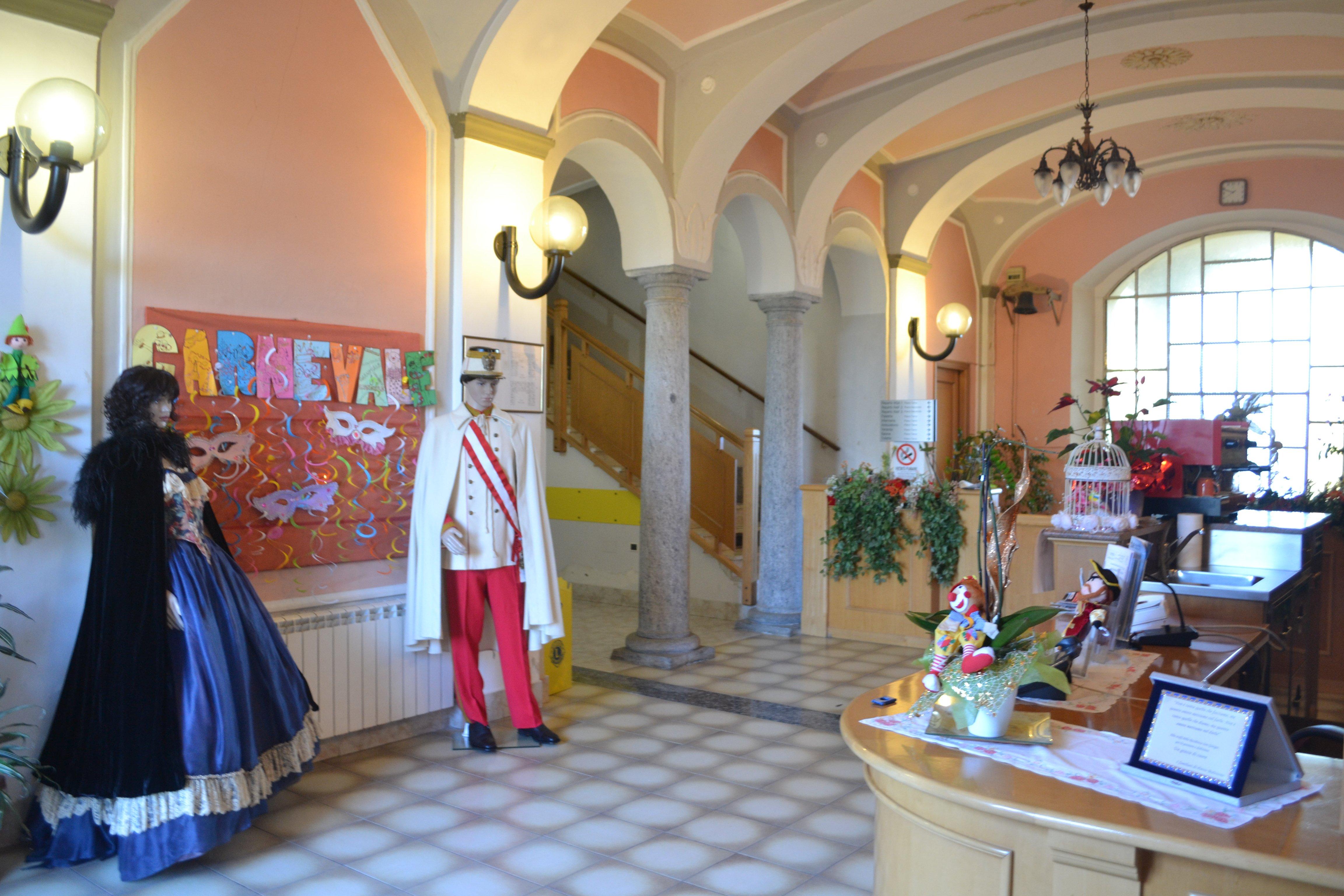 reception della struttura San Giorgio