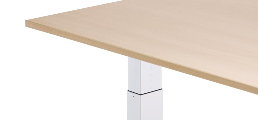 tavolo operativo colo noce chiaro_linea attention sedus