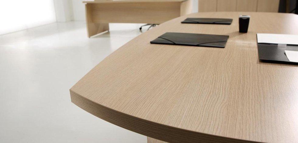 scrivania ad angolo color rovere_linea olimpo