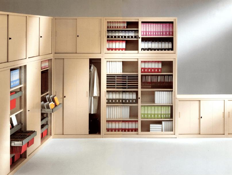 archiviazione e mobili metallici
