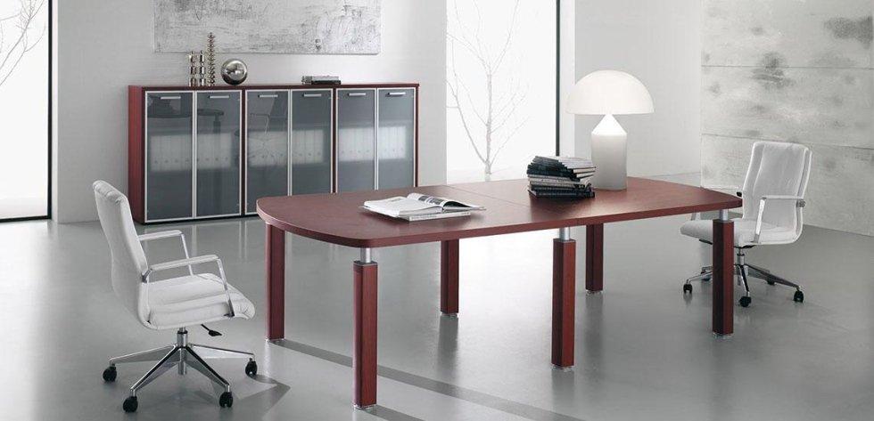 scrivania dirigenziale per uffici_ linea cubo 2