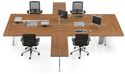 scrivania multipostazione per ufficio operativo